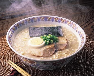 福岡県産ラー麦 博多生ラーメンとんこつ味 20食(10食入×2箱)[B2227]