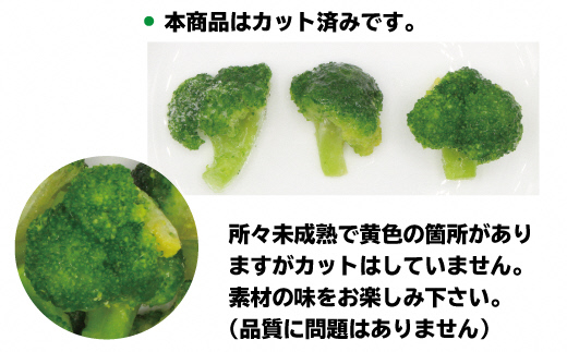 【福岡県産】冷凍ブロッコリー3kg(1kg×3袋)[C2258]