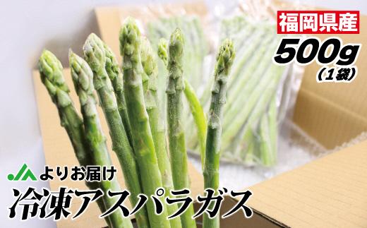【福岡県産】冷凍アスパラ500g(500g×1袋)[C2267]