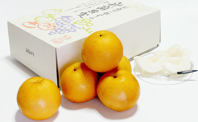 朝倉・旬の梨 約3kg<林農園>※配送不可:離島