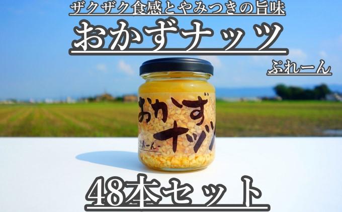 おかずナッツ ぷれーん 110g×48本