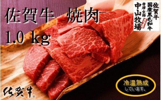 中山牧場 佐賀牛焼肉(1kg)