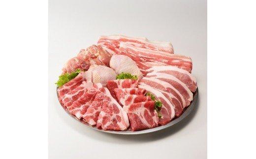 丸福 佐賀県産豚肉(肥前さくらポーク)1.6kgと若どり(ありたどり)モモ肉1kg 合計2.6kg