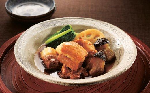楽縁 豚の角煮と野菜の炊き合わせ 約550g