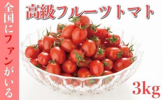 全国にファンがいる高級フルーツトマト どっさり!アイコ3kg