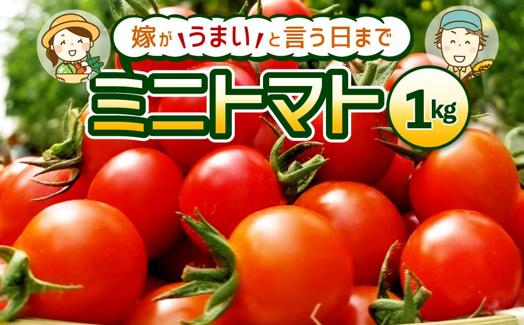 【2021年10月下旬より順次発送】【先行予約】嫁がうまいと言う日まで ミニトマト 1kg トマト