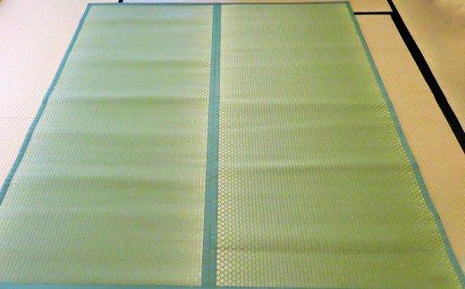 【緑】八代市 い草 すっぴん敷マット 2畳 190cm×180cm