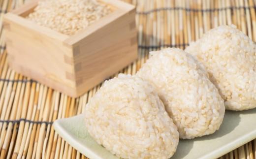 【令和3年度産新米】森のくまさん(みっつ星)玄米5kg生きもの育む田んぼのお米