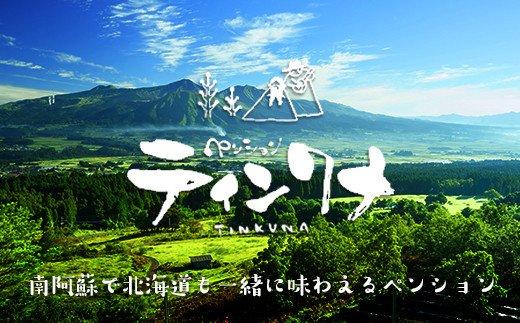 ペンション北海道の輝き☆ティンクナ1泊2食付ペア宿泊券