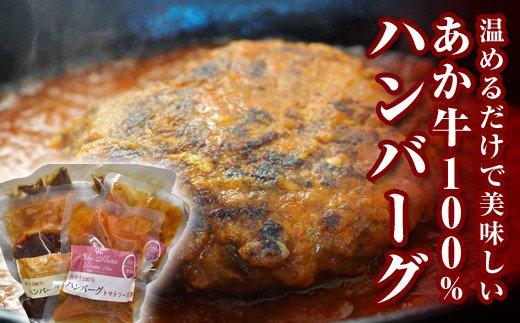 あか牛ハンバーグ6個セット(2種)