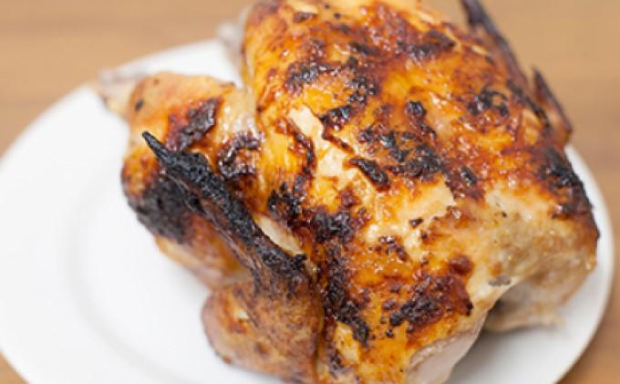 『コッコローチキン』の国産若鶏のラテン風 丸焼き 2羽