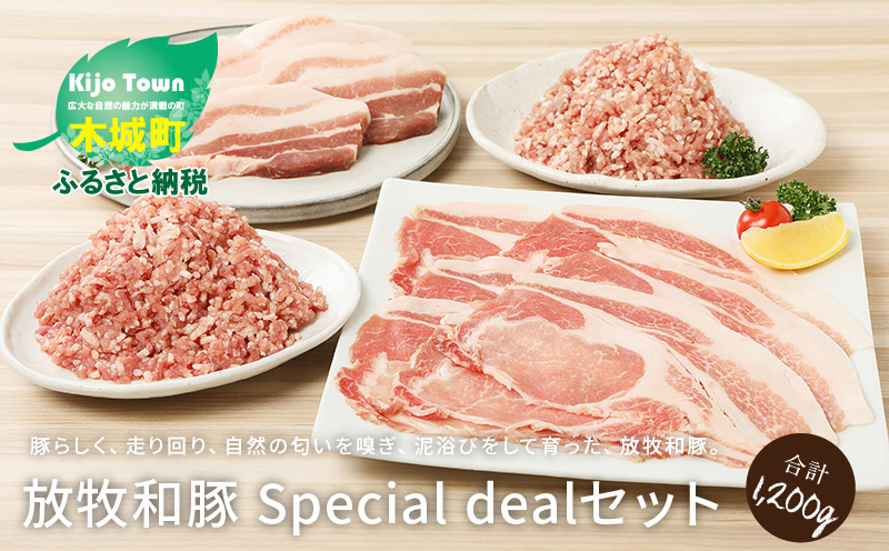 K26_0001_1 放牧和豚 Special dealセット 計1,200g