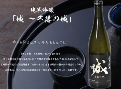 K21_0006<木城町・毛呂山町 新しき村友情都市コラボ日本酒2種4本セット(城2本・Alabanza2本)>