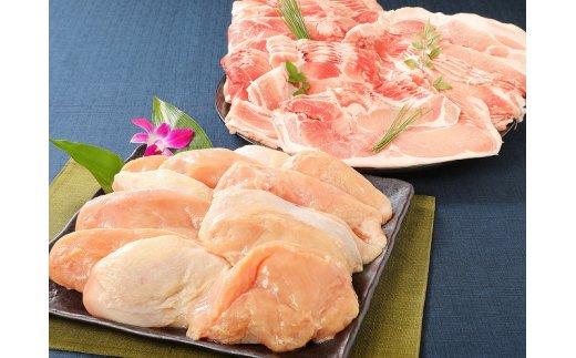 <宮崎県産豚・鶏5kgセット>