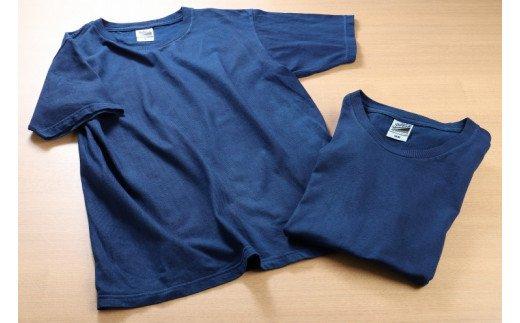 K17_0004<じゅうじ染め・藍染めTシャツ>