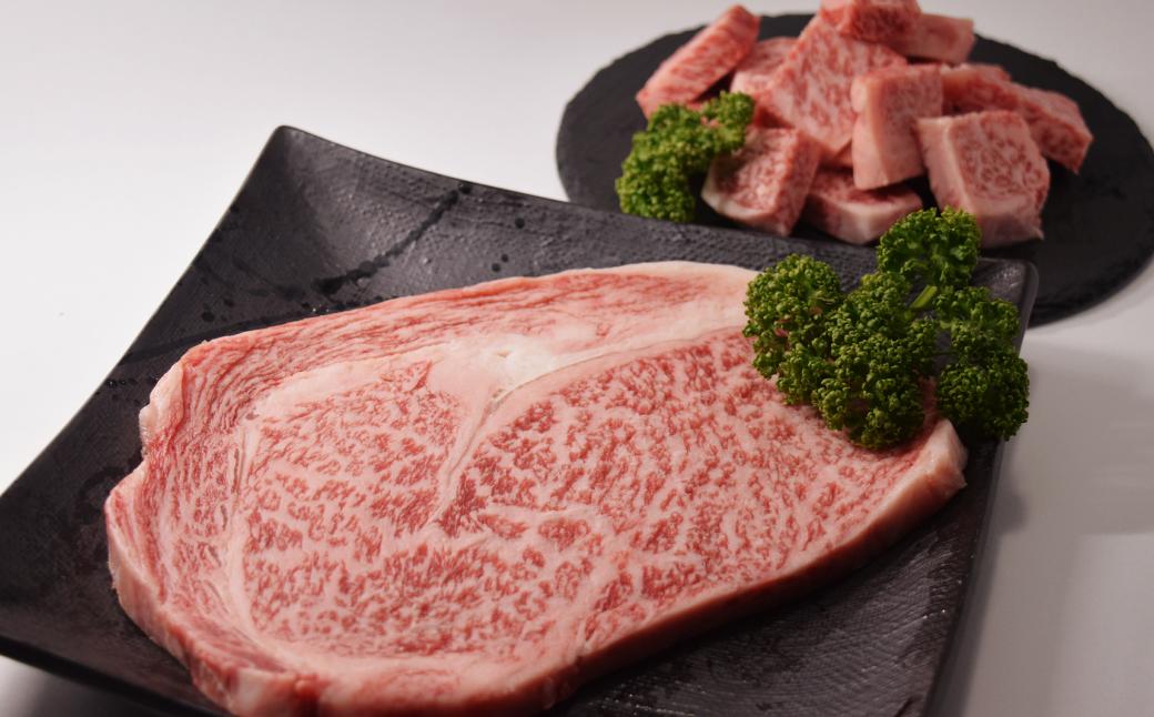 鹿児島 黒牛 リブロースステーキセット 計500g【R-501】