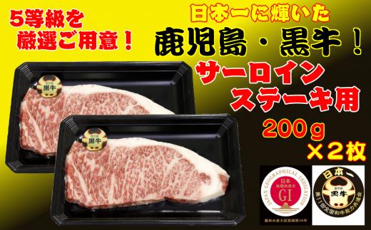 鹿児島 黒毛和牛 サーロインステーキ【K-105】750pt
