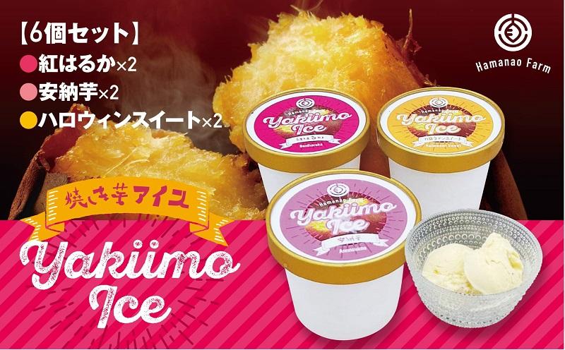 W-5401/焼き芋アイス 3種類セット(6カップ)