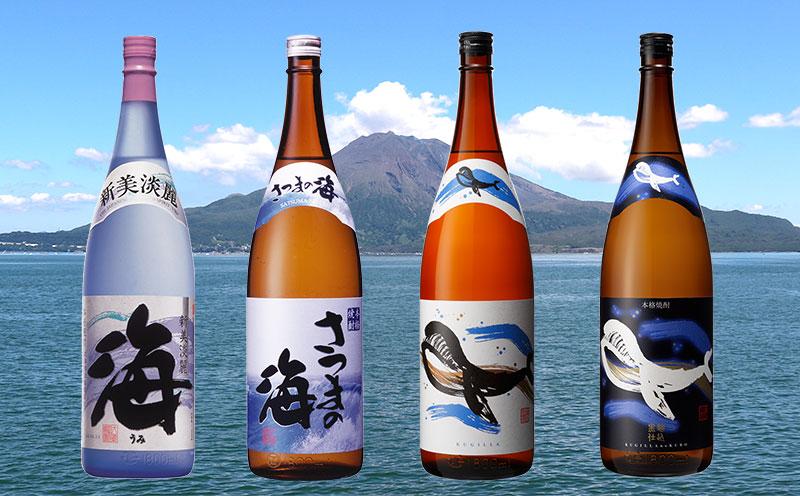 C3-2570/大海酒造飲み比べ 1800ml 4本セット
