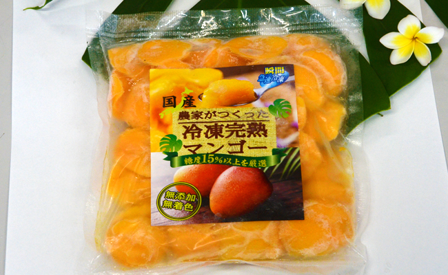 【鹿児島県天城町】天城町産冷凍マンゴー1kg