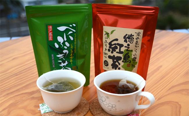 お茶セット(徳之島産べにふうき)