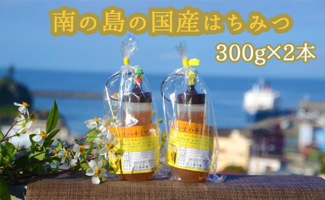 【鹿児島徳之島】淡雪せんだん草ハチミツ300g×2本