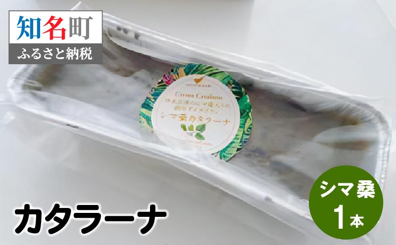 35-10 カタラーナ (シマ桑) 約200g×1本