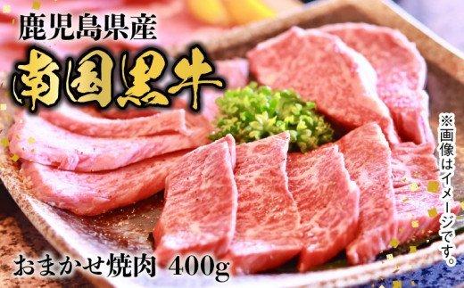 南国黒牛おまかせ焼肉400g