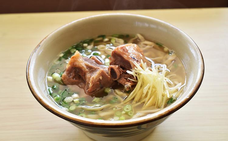 郷土の伝統の味 ソーキそば(6食セット)