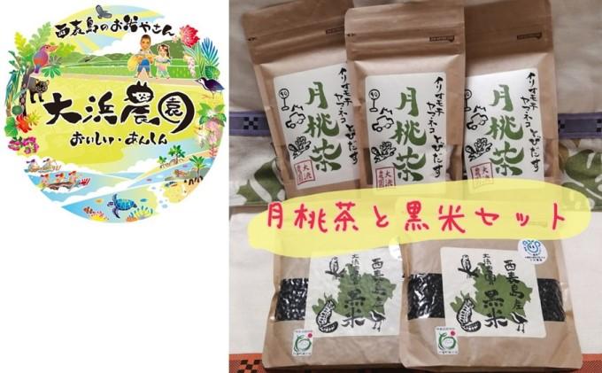 月桃茶と黒米セット