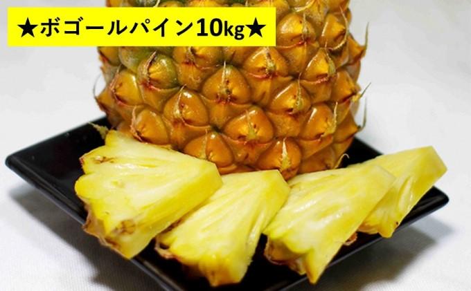"""【2021年発送】パイナップルはちぎって食べる?""""厳選"""" ボゴール 約10kg(12~16玉)"""